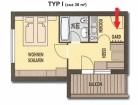 Apartament I, 2-3 osoby